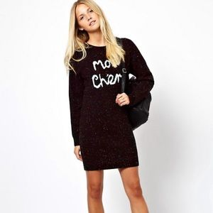 ASOS Mon Cheri Sweater Dress